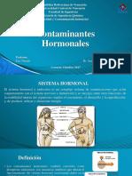 Contaminantes Hormonales PRESENTACIÓN