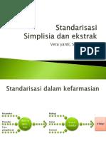 Simplisia Dan Ekstrak
