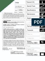 Honda Civic 92-95 Workshop Manual  62sr320