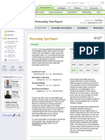 myplan   assessment   personality test report
