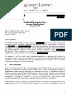 Independent Investigation Report on Utah County Commissioner Greg Graves