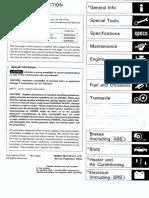 Honda Civic 92-95 Workshop Manual  62sr321