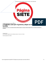3 Tinglados Caen Por El Granizo y Dejan...Rto y 21 Heridos - Diario Pagina Siete