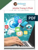 Sach Tao Website Trong 4 Phut