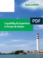 Capability & Experience in Power & Water