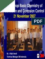 Workshop Corrosion Control