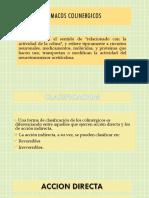 Farmacos Anticolinergicos y Colinergicos