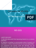Comandos de MS-DOS