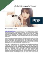 Biodata, Profil, Dan Data Lengkap Im Yoon-Ah