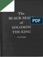 Carl Nagel Black Seals of King