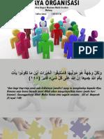 Budaya Organisasi (Organization Culture)
