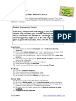 group peer review practice compare