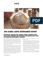 2016 Year End Cartel Report January 2017 Morgan Lewis