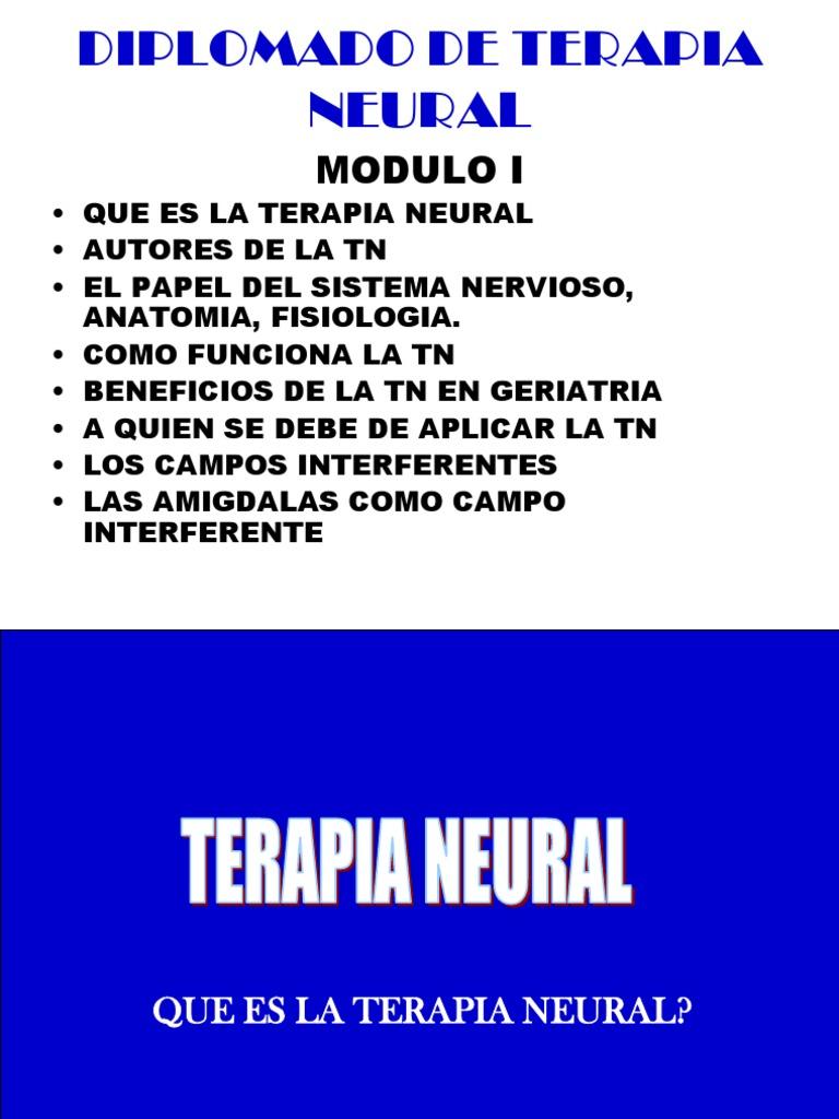 Diplomado en Terapia Neural Modulo i