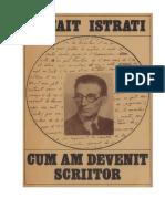 Panait Istrati - Cum Am Devenit Scriitor v.1.0
