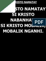 Si Kristo Namatay_fr. Ricky