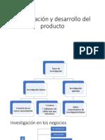 Investigación y Desarrollo Del Producto