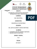 calidad en educación e industrias, innovación
