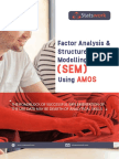 Factor Ananlysis & Structure Equation Modelling(SEM) Using AMOS