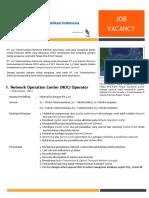 Job Vacancy - LTI