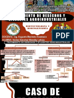 Desechos y Efluentes Agroindustral
