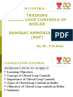 Control Loops for Boiler