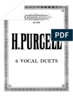 Henry Purcell- 6 Vocal Duets