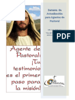 Semana de Actualizacion Para Agentes de Pastoral