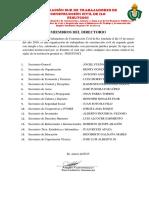 Miembros Del Directorio Fesutrcoci