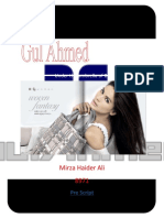 Gul Ahmed (Brand Management Term Report)