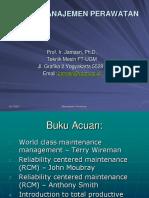 Sistem Manajemen Perawatan 2010