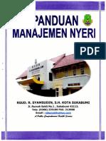 Panduan - Manajemen Nyeri