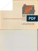 Metropolitan Edmonton Transportation Study (METS) Volume 2 - Plan and Program, 1963