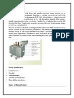Transformer Project File