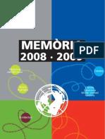 Memòria d'activitats 2008/9
