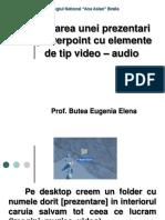 Creare Unui Ppt Cu Audio Si Video