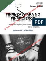 2. Finanzas Para No Financieros IX - Módulo 1