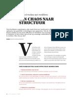 Van Chaos Naar Structuur
