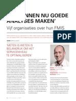 Vijf Organisaties Over Hun FMIS