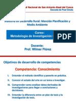 Clases de Metodología de La Investigacion Cientifica
