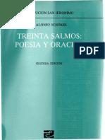 Alonso Schokel Luis - Treinta Salmos - Poesia Y Oracion