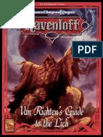 RR6 - Van Richten's Guide to the Lich.pdf