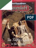 RR8 - Van Richten's Guide to the Created.pdf