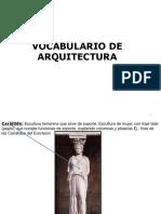 vocabulario arquitectura 3