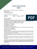 Sds-Acetic Acid Glacial