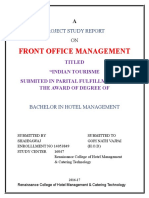 Front Office Management Shahnawaj
