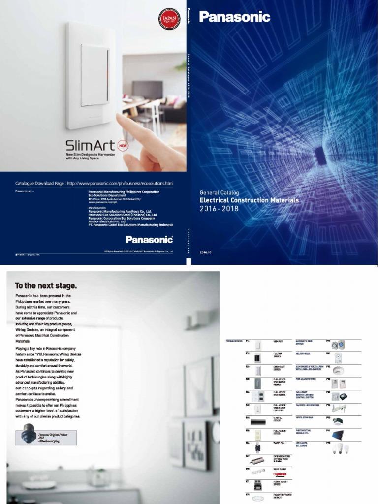 Awe Inspiring Panasonic Pdf Wiring Digital Resources Cettecompassionincorg
