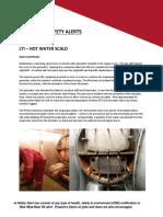 A Safety Alert Maintenance 1 IADC