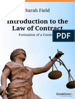 Introduction to the Law of Contract