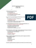 All Anesthesie Réa MCQ
